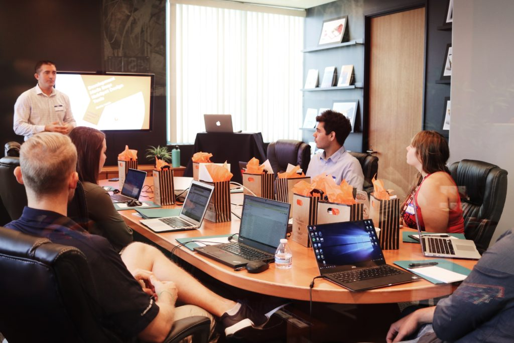 mulesoft consulting, meeting in a conference room